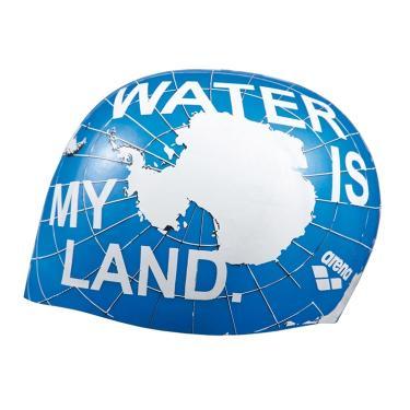 Touca de Natação Poolish Moulded Arena - Blue Water