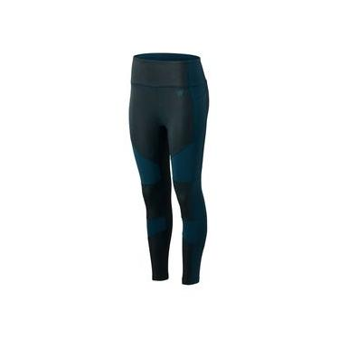 Calça New Balance Determination Stretch Tight | Feminino Azul - GG