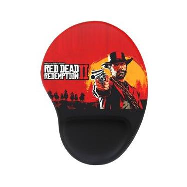 Mouse Pad Ergonômico Gamer Red Dead Redemption 2