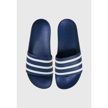 Imagem de Sandália adidas Originals Adillete Azul ADIDAS ORIGINALS ADIDAS ORIGINALS ADIDAS ORIG... masculino