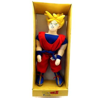 Boneco Goku Super Sayajin Dragon Ball Z  Pelucia
