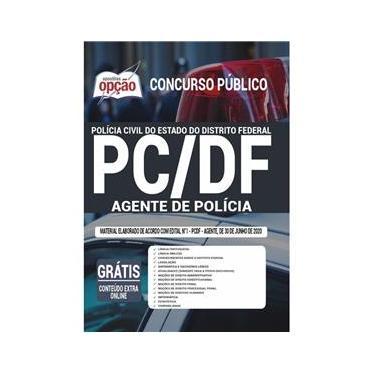 Imagem de Apostila Concurso Pc Df - Agente De Polícia Distrito Federal