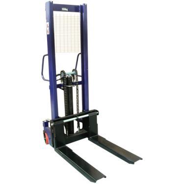 Empilhadeira hidráulica manual 2000 Kg elevação 1 6 metros - NEMP2T
