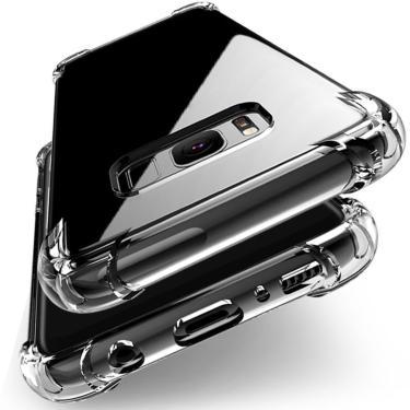À prova de choque Capa De Silicone Transparente Para Samsung Galaxy A3 A5 A6 A7 A8 A9 2016 2017 A01