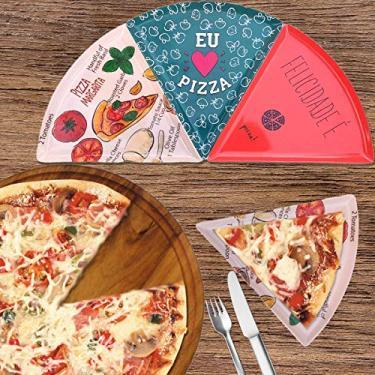 Imagem de Prato Formato Pizza Premium