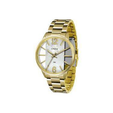 8d0f4d3339d Relógio Feminino Lince Dourado Lrg608l-b2kx