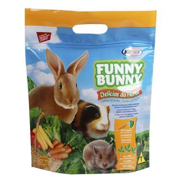 Ração Supra Funny Bunny Delícias Da Horta 1,8Kg