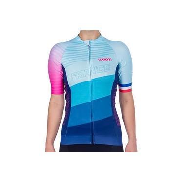 Camisa De Ciclismo Woom Supreme France Feminina Coleção 2021
