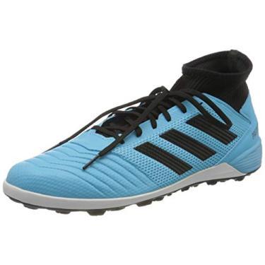 Imagem de Chuteira Adidas Society Predator 19 - Azul, Cor: Azul, Tamanho: 41