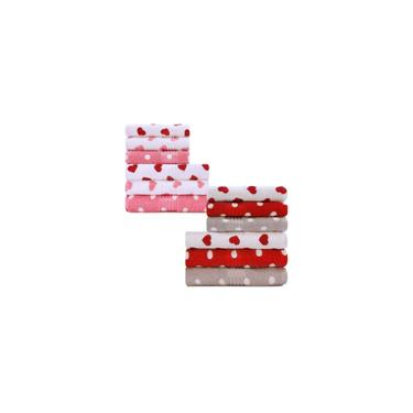 Imagem de Kit 6 peças Toalha Banho + Rosto Infantil Estampada100% Algodão Felpuda Prisma - Dohler - Emcompre