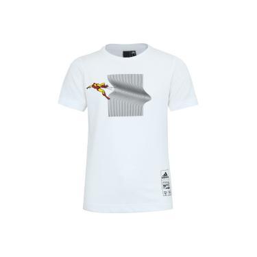 4b04d165de Camiseta adidas Homem de Ferro - Infantil - BRANCO adidas