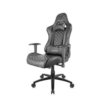 Cadeira Gamer Office Giratória com Elevação a Gás TGC12 Preto - ThunderX3