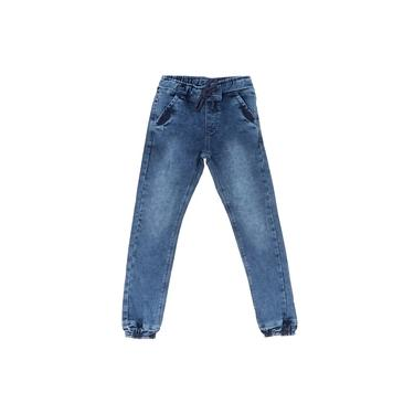 Calça Jeans Infantil Menino Jogger