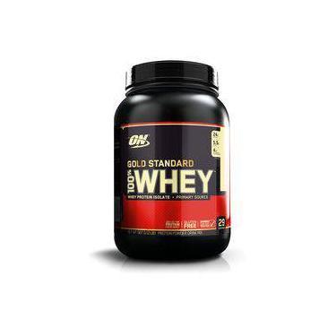 fc2a74974 Whey Protein Gold Standard 100% 909G - Baunilha - Optimum Nutrition