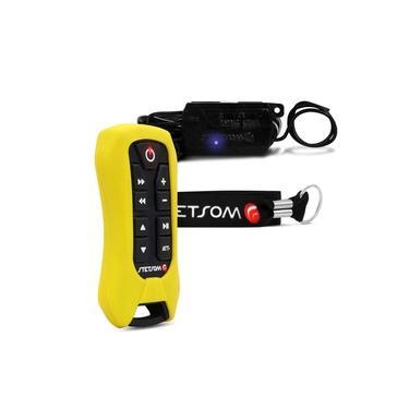Controle Longa Distância Stetsom SX2 Light 200 Metros Amarelo Alcance Control