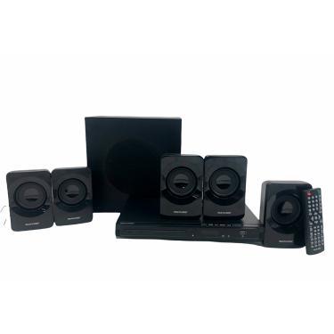 Imagem de Home Theater Multilaser Com DVD 320W HDMI SP268 - Preto
