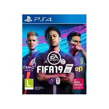 Jogo PS4 - FIFA 2019 - EA Sports - Playstation