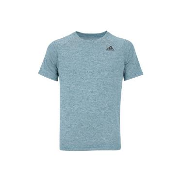e03687db9b416 Camiseta adidas D2M HT - Masculina - VERDE ESCURO adidas
