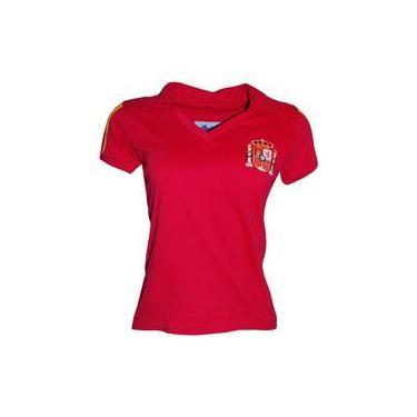 Camisa Liga Retrô Espanha Feminina