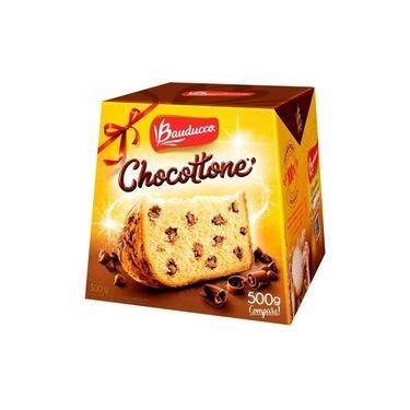 Imagem de Chocotone Gotas De Chocolate Chocottone Bauducco 500g
