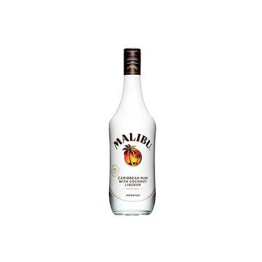Rum Caribenho com Coco Malibu - 750ml