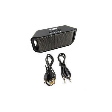 Caixa de Som Max Print Bluetooth SD Usb Iluminação Led 4W