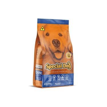 Ração Cães Adultos Special Dog Premium Sabor Carne 20kg