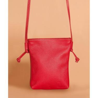 Bolsa Soulier Bolsinha Delicada Vermelho  feminino