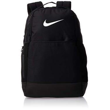 Imagem de Mochila de treinamento média Nike Brasilia, Black/Black/White, Misc