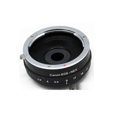 Imagem de Adaptador de Lente Canon com abertura para Câmeras e Filmadoras Sony Nex