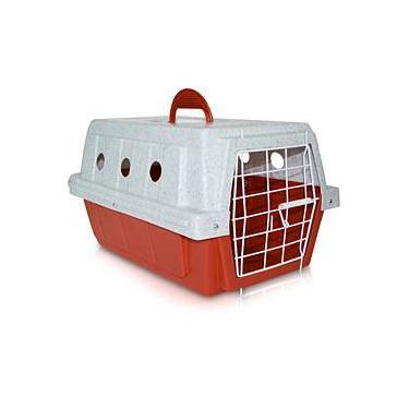 Caixa de Transporte N.1 Vermelha - AMFPET