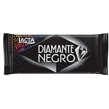 Combo com 5 Barras Chocolate Diamante Negro Lacta 90g