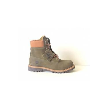 Bota Timberland Masculina/Feminina Yellow Boot 6 - Verde Militar