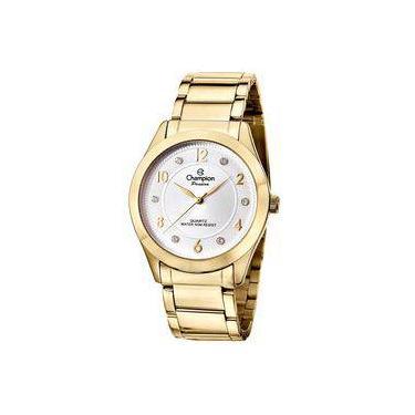 55f765b3fc3 Relógio Feminino Dourado Champion Passion CN29230H