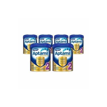 Kit Aptamil Premium+ 2 - 800g - 6 unidades