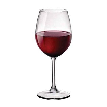 Taça De Vinho Nebbiolo 6 Peças Cristalin Bormioli Riserva 490ml