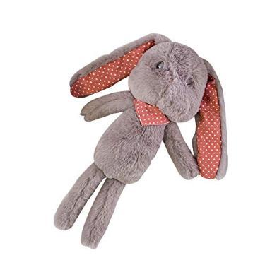 Imagem de ZSGG Coelho Bonecos de pelúcia Bonecos de pelúcia bonito dos desenhos animados Coelhinho adormecido Bebê de pelúcia de pelúcia coelho de orelhas compridas Presente de pelúcia para crianças