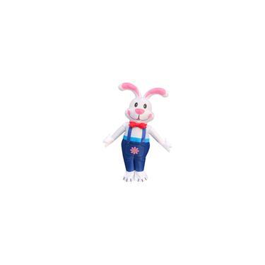 Imagem de Traje inflável jogo fantasia fantasia de Páscoa macacão cosplay roupa presente coelho