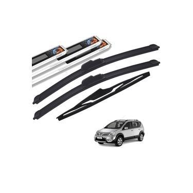 Palheta Limpador Parabrisa Nissan Livina 2008 a 2018 Dianteiro e Traseiro Original AutoImpact
