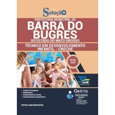 Imagem de Apostila Barra Do Bugres - Mt 2020 - Técnico Creche
