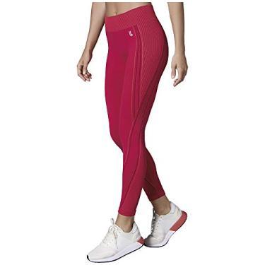 Calça legging Max, Lupo Sport, Feminino, Coral, GG