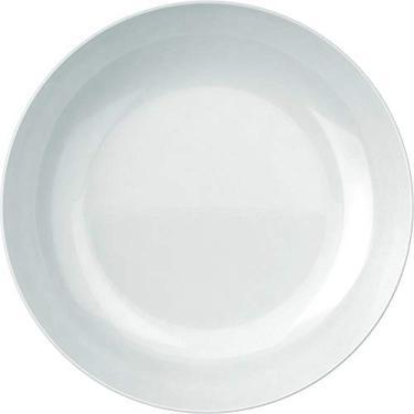 Imagem de Conjunto 6 Pratos Fundos Blanc em Vidro - Duralex Opaline - 22x3,7 cm