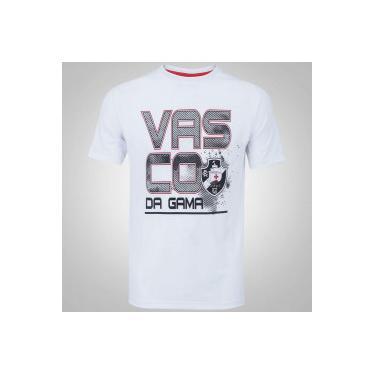 Camiseta do Vasco da Gama Sigma - Masculina - BRANCO Braziline 922786ddbcaaf