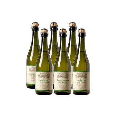 Vinho Frisante Lambrusco Dell Emilia Villa Giada Branco 06 Un