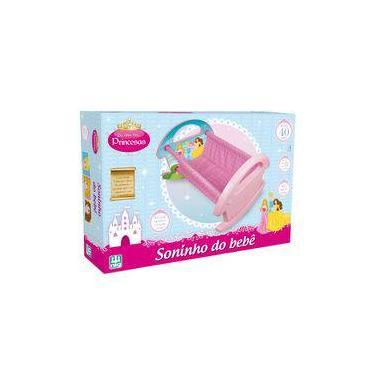 Imagem de Berço Para Boneca Soninho do Bebê Princesas 791 - Nig