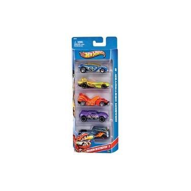 Imagem de Conjunto Com 5 Carrinhos Hot Wheels Mattel Sortidos