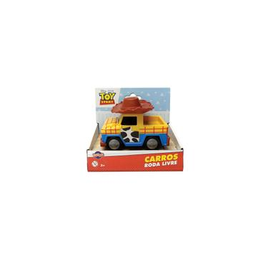 Imagem de Brinquedo Carrinho Rodas Livres Toy Story Woody Toyng 34220