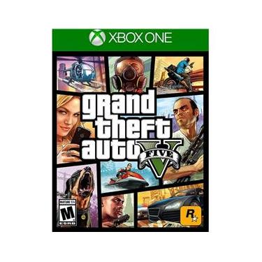 Jogo - Grand Theft Auto V - GTA V - GTA 5 Xbox One
