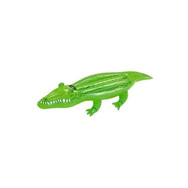 Boia Para Piscina Crocodilo Jacaré Bel Lazer