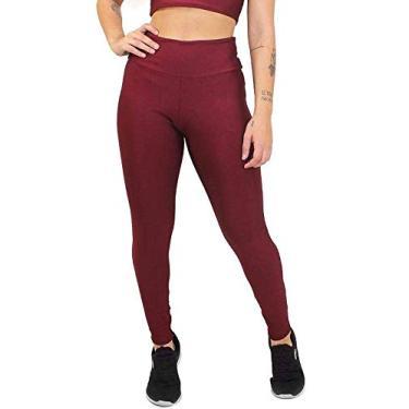 Imagem de Calça Legging Fitness Suplex Lisa Academia Musculação